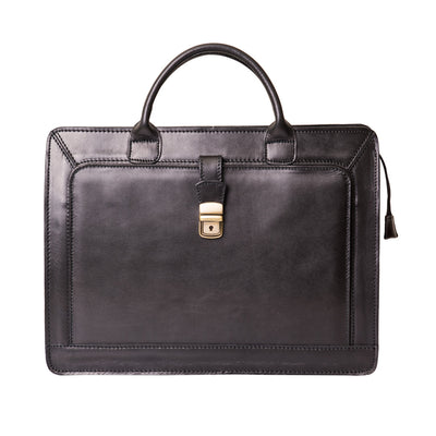 ALBERT BLACK BRIEFCASE