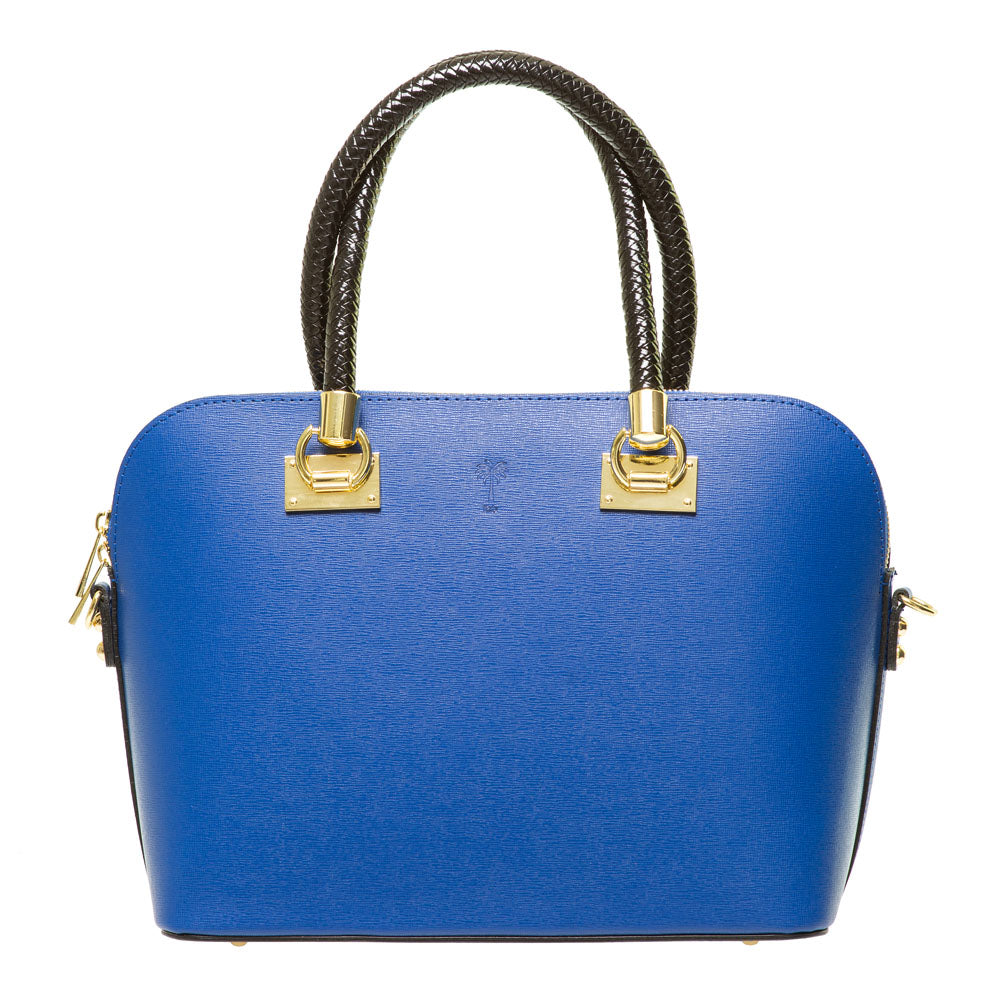 BREGETTE BLUETTE LEATHER HANDBAG - www.marlafiji.com