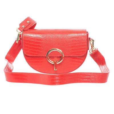 CELINE RED SHOULDER BAG - www.marlafiji.com