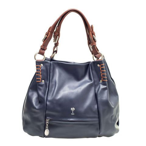 CHRISTA NAVY SHOULDER BAG - www.marlafiji.com