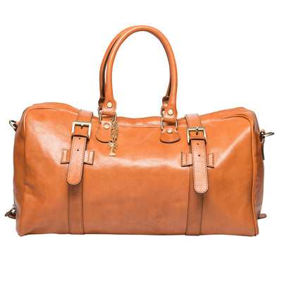 DANIEL COGNAC TRAVEL BAG