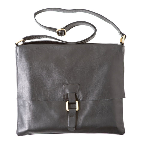 Do Black Unisex Messenger Bag