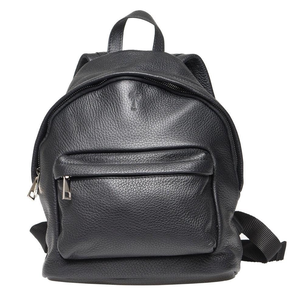 GEORGE UNISEX BLACK BACKPACK