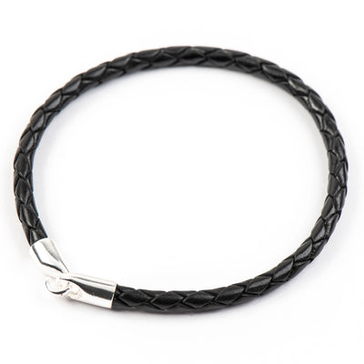 HUNTER WOVEN LEATHER UNISEX BRACELET - www.marlafiji.com