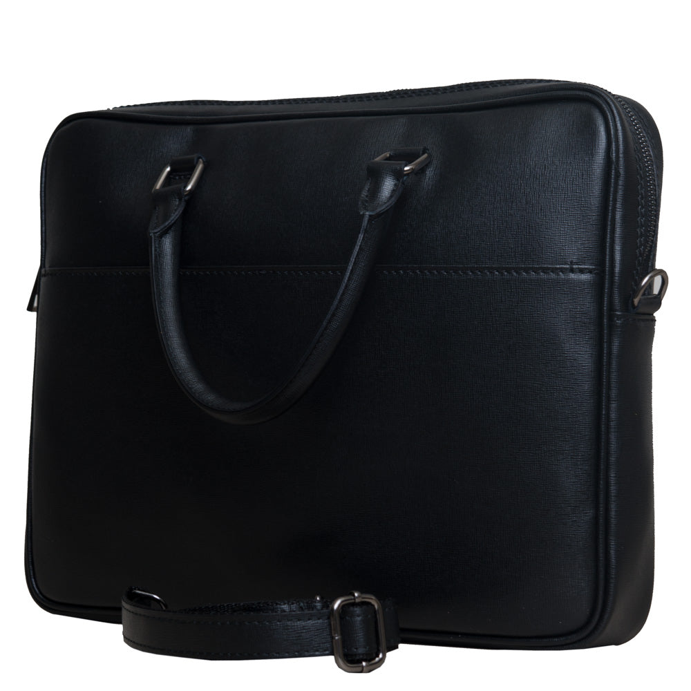 JAMES BLACK UNISEX SLIM BRIEFCASE