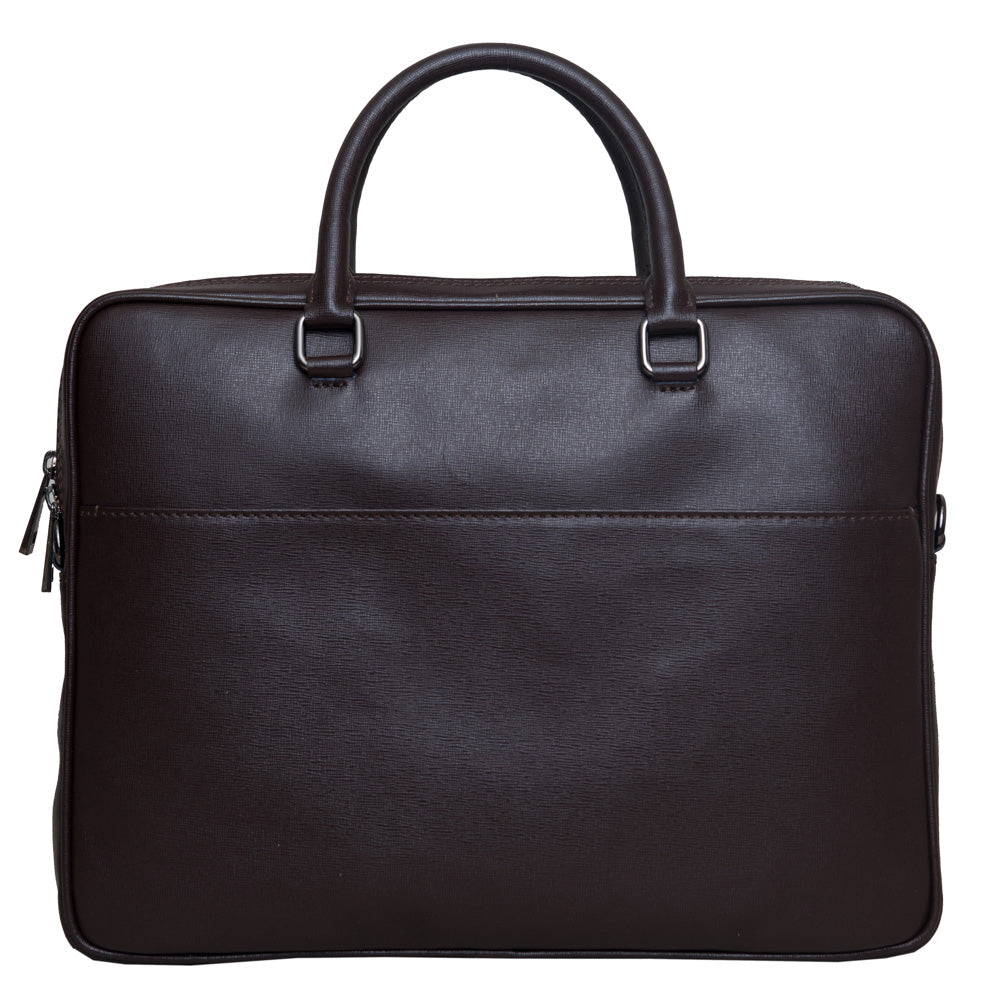 JAMES BROWN UNISEX SLIM BRIEFCASE - www.marlafiji.com