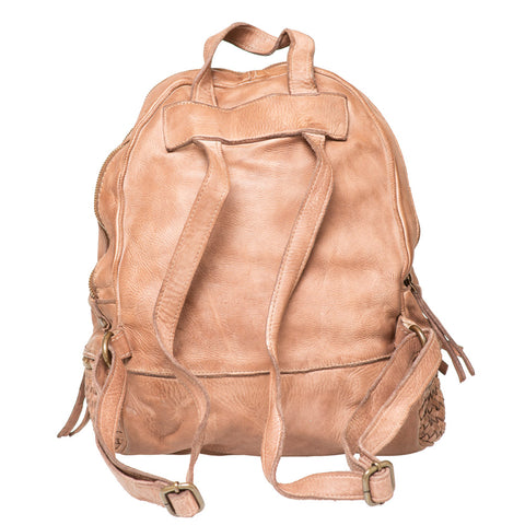 JAMIE BROWN UNISEX WOVEN BACKPACK
