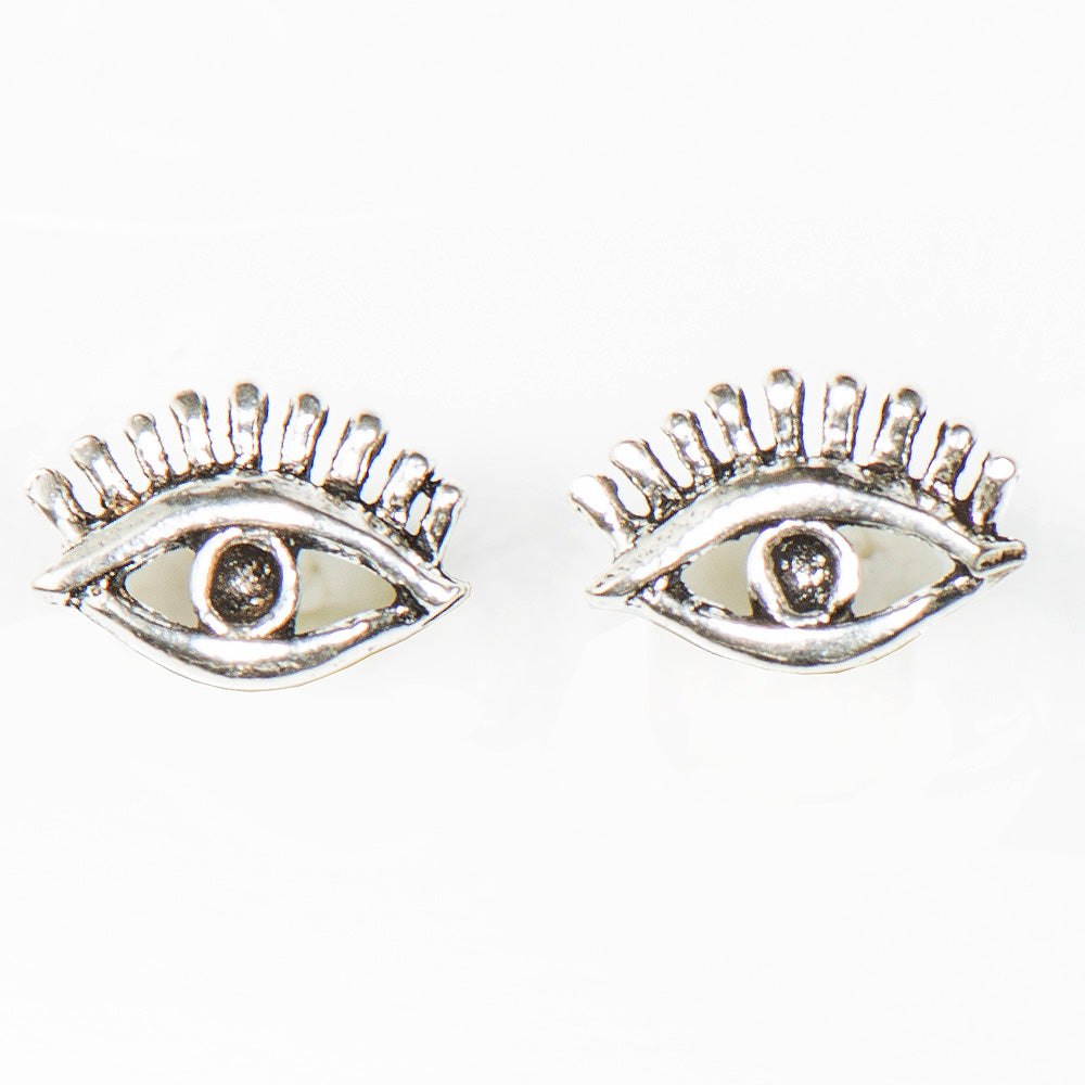 JOJO STERLING SILVER EYE EARRINGS - www.marlafiji.com