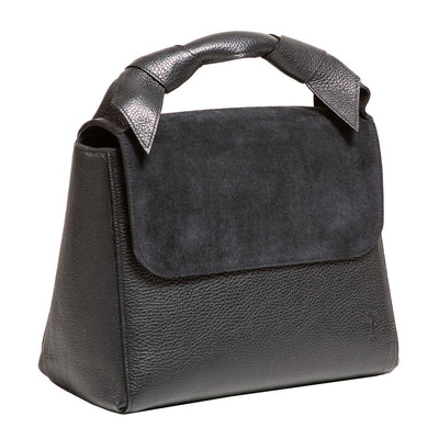 LUNA BLACK HANDBAG