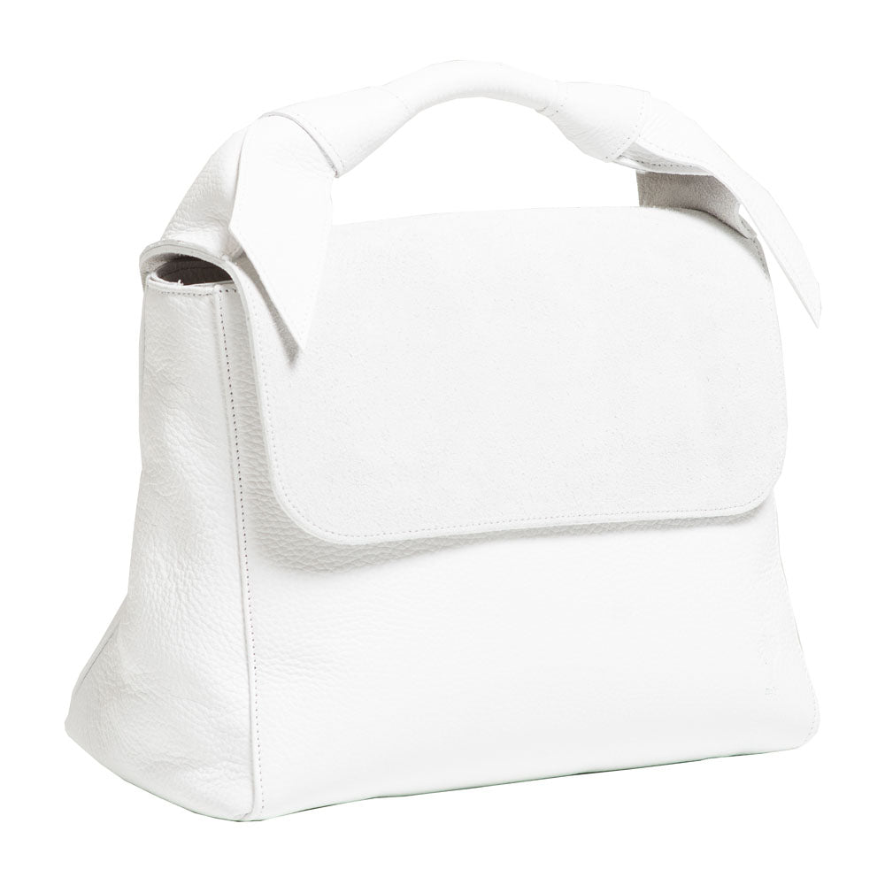 LUNA WHITE HANDBAG