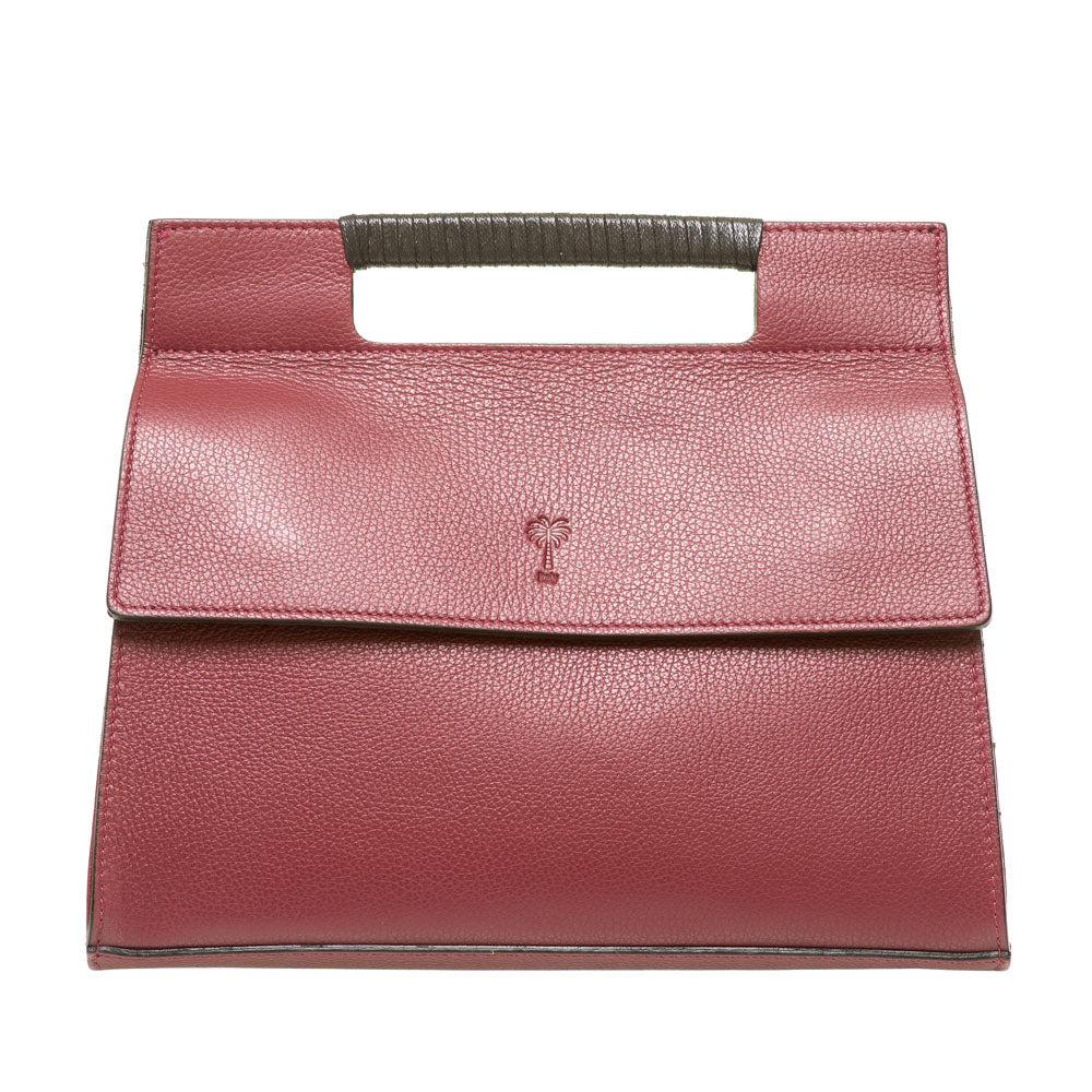 MAGGI VINO LEATHER HANDBAG - www.marlafiji.com