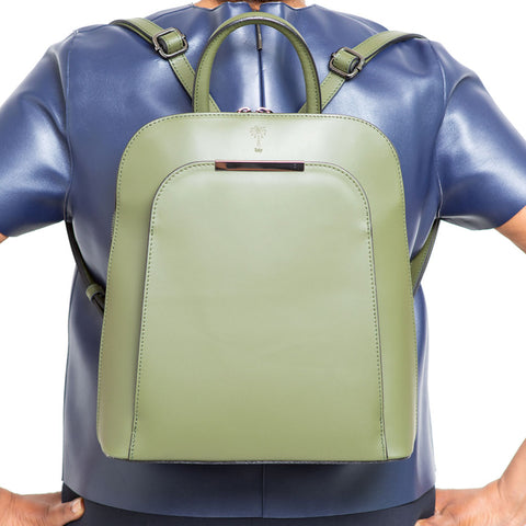 PHOENIX MOSS UNISEX LEATHER BACKPACK