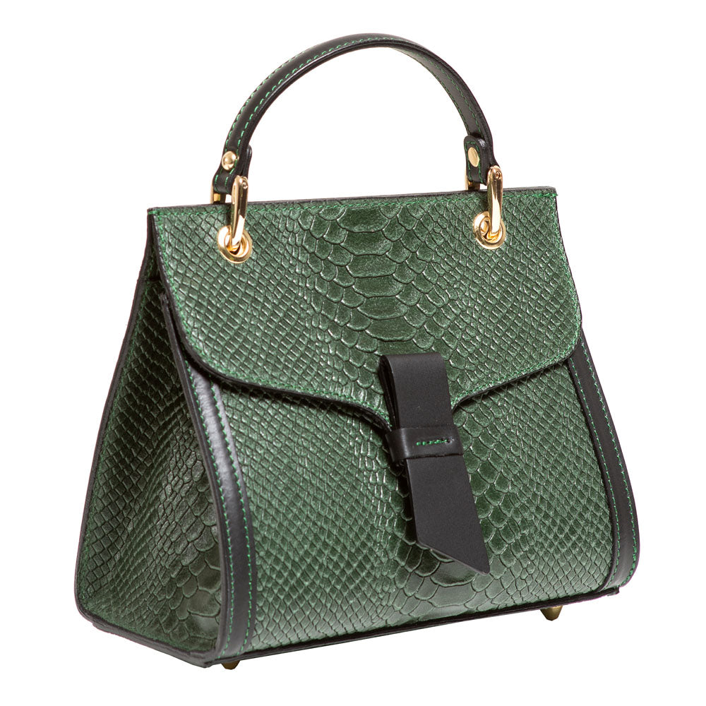 PRIYANKA GREEN MINI HANDBAG