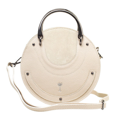 SALLY BEIGE CIRCLE BAG - www.marlafiji.com