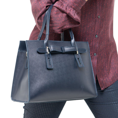 SALLY NAVY MINI HANDBAG - www.marlafiji.com