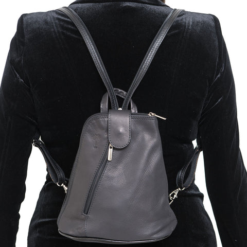 SAM MINI BLACK UNISEX BACKPACK