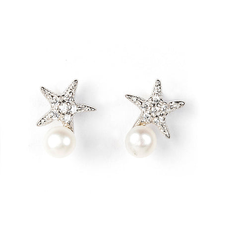 STARFISH STERLING SILVER EARRINGS - www.marlafiji.com