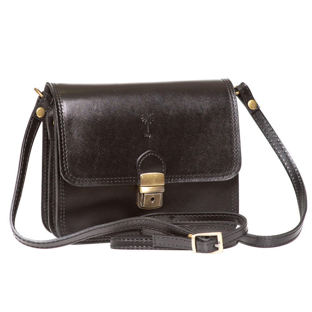 TAYLOR BLACK CROSS- BODY BAG