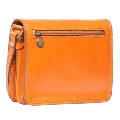 TAYLOR COGNAC CROSS- BODY BAG