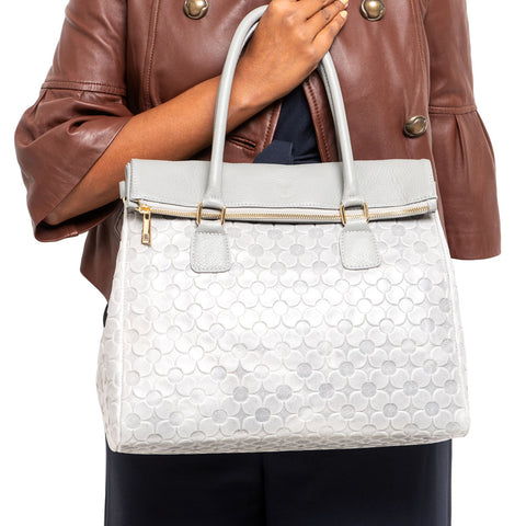 TINA GREY FOUR LEAF CLOVER HANDBAG