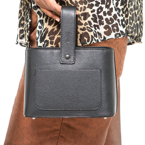 WILLIS BLACK  MINI HANDBAG