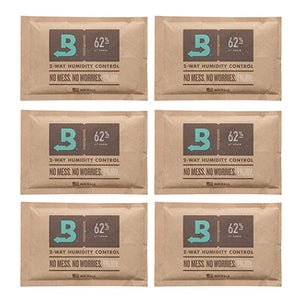 Boveda 2-Way Humidity Control 67 Grams – 62% RH - 6 Pack - Vape Society