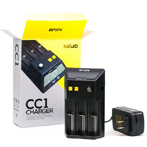 MXJO CC1 3-Bay LCD Intelligent Battery Charger - Vape Society