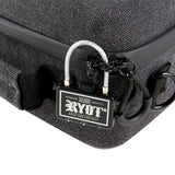RYOT AXE Pack GOO.O Carbon Series with SmellSafe and Lockable Technology in Black - Vape Society