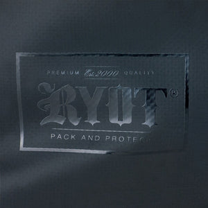 RYOT Hauler Bag Carbon Series with SmellSafe and Lockable Technology in Black - Vape Society