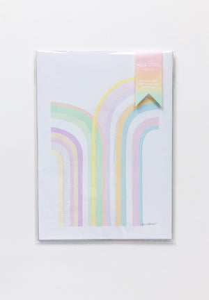 Rainbowland Double Rainbow Print