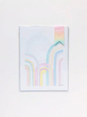 Rainbowland Triple Rainbow Print