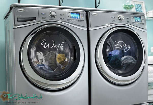 Wash Dry Sticker Decal - #1716