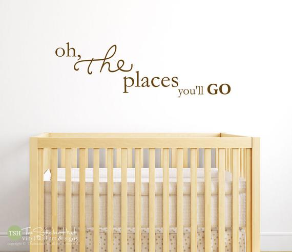 Oh The Places You'll Go Decal Sticker - #1809