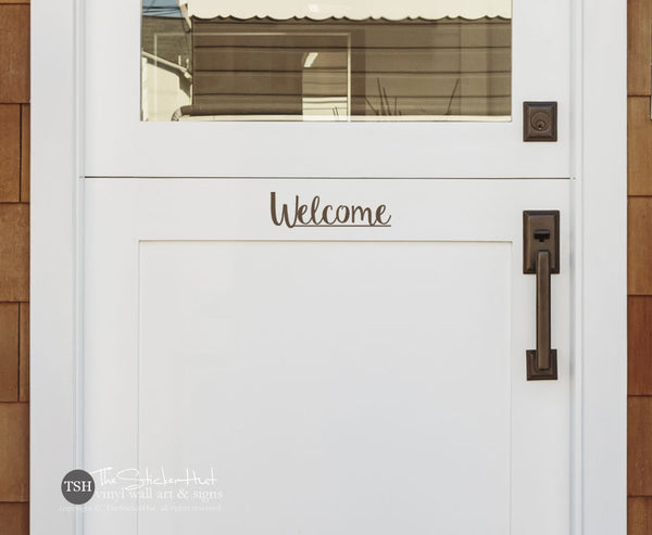 Welcome Decal Sticker - #1909