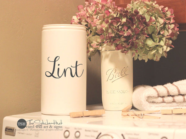Lint Decal Sticker - #1920