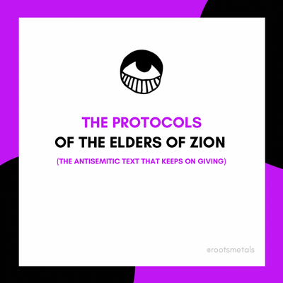 The Protocols of the Elders of Zion: the antisemitic text that keeps on giving