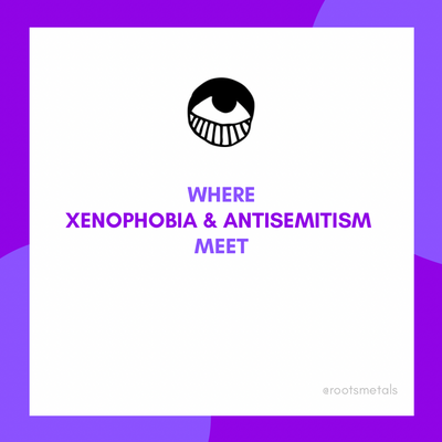 where antisemitism and xenophobia meet