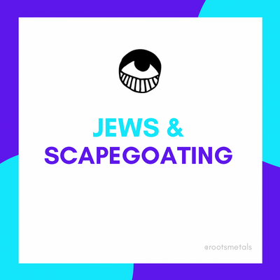 Jews & scapegoating