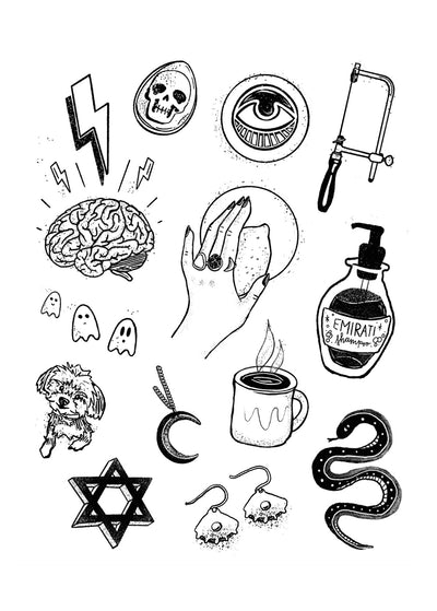 Roots Sticker Sheet