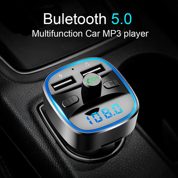 Car Wireless Bluetooth FM Transmitter with MP3 Player
