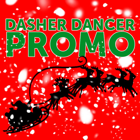 Dasher Dancer Gift Card Promo
