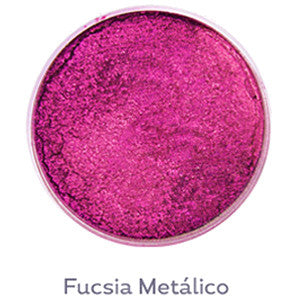 **AQUA BOND'S COLORES METALICOS FUCSIA METALICO
