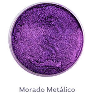 **AQUA BOND'S COLORES METALICOS MORADO METALICO