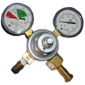 EUROPEAN BODY ART DOUBLE GAUGE REGULATOR