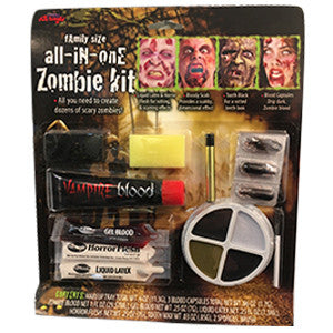ALL-IN-ONE ZOMBIE MAKEUP KIT #FW9571 #13939