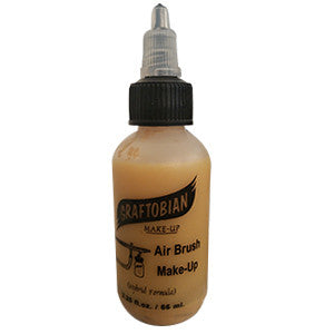 *GRAFTOBIAN F/X AIRE AIRBRUSH FACE & BODY MAKE-UP - 2OZ BOTTLE-YELLOW DEEP