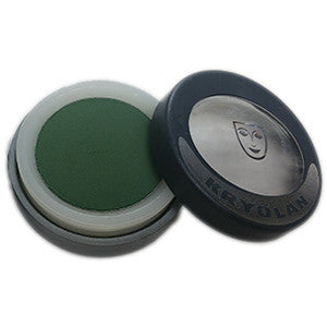 KRYOLAN CAKE EYE LINER GREEN #5321 10181