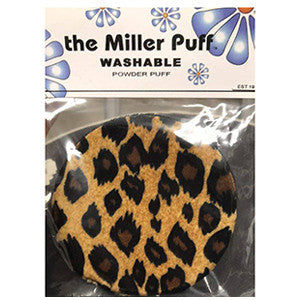 THE MILLER PUFF WASHABLE POWDER PUFF ZÉBRÉE
