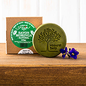 MORINGA SAVON NATUREL/NATURAL SOAP 100G