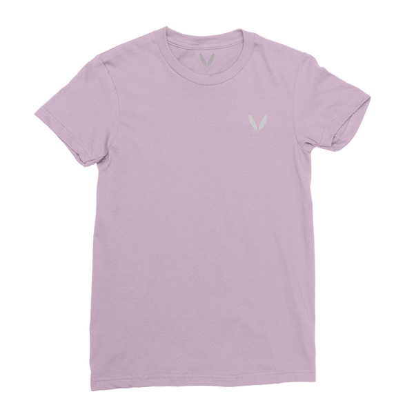 Feather Logo T-Shirt (W) - Rose